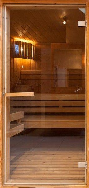 Fototapeta na drzwi   Sauna 3