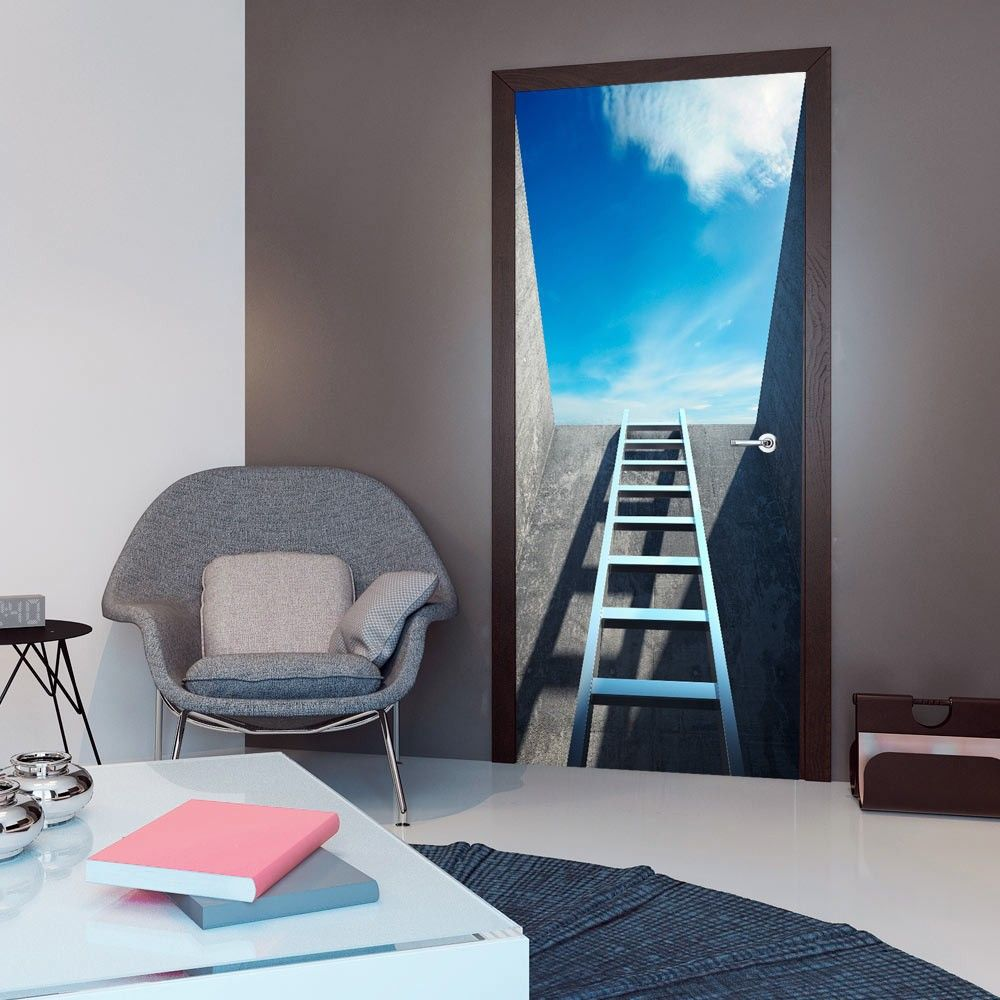 Fototapeta na drzwi   Tapeta na drzwi   Drabina do nieba