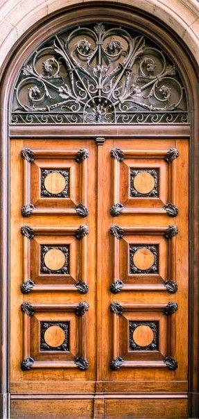Fototapeta na drzwi   Zabytkowe drzwi 3