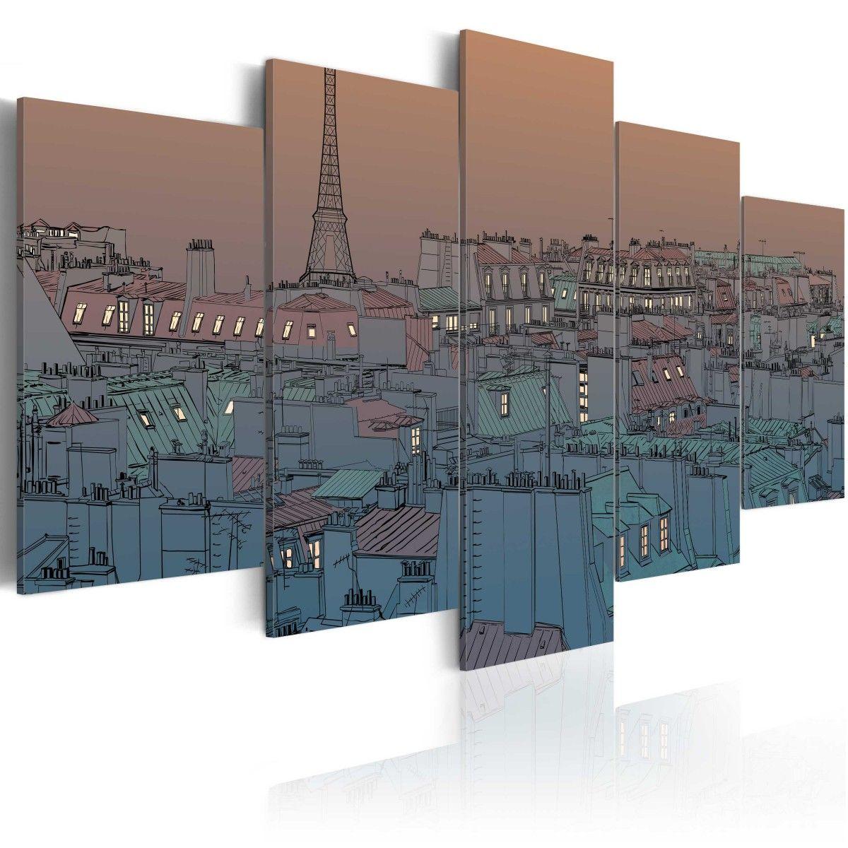 Obraz   Pary   zapada zmrok