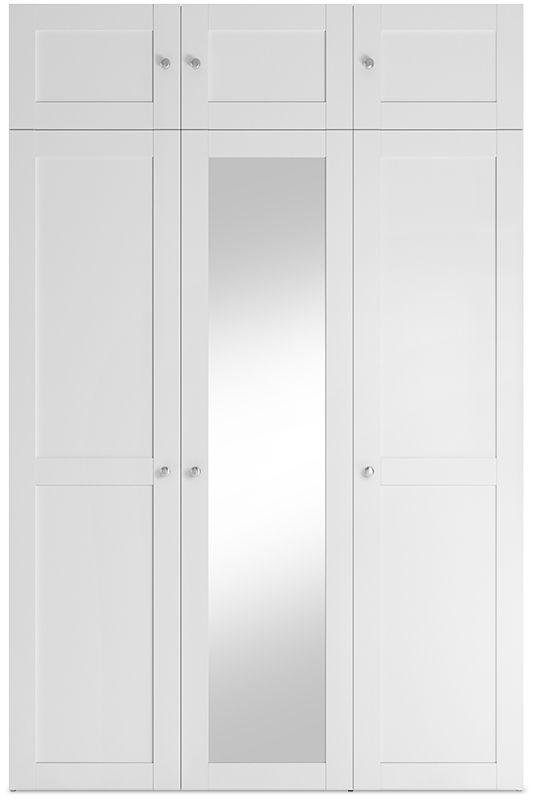 abra 18 06 18 napoli bialy   lustro 150 cm wprost