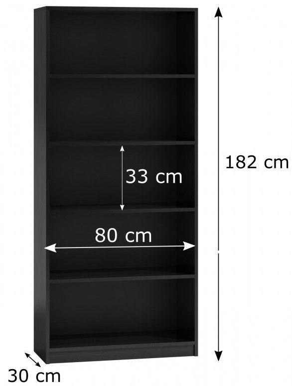 basic80 czarny rozmiar