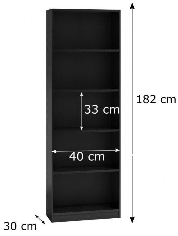 basic 40 czarny rozmiary