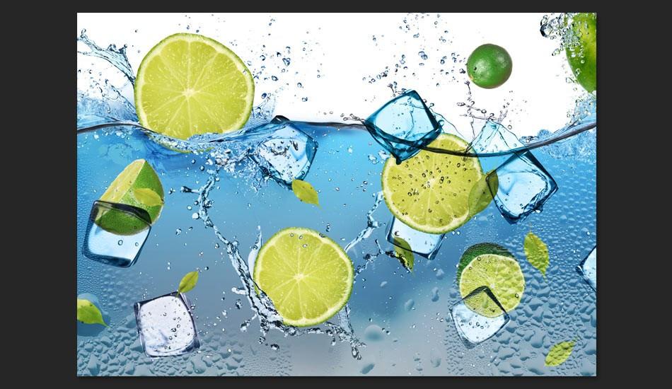 Fototapeta - Orzeźwiająca lemoniada