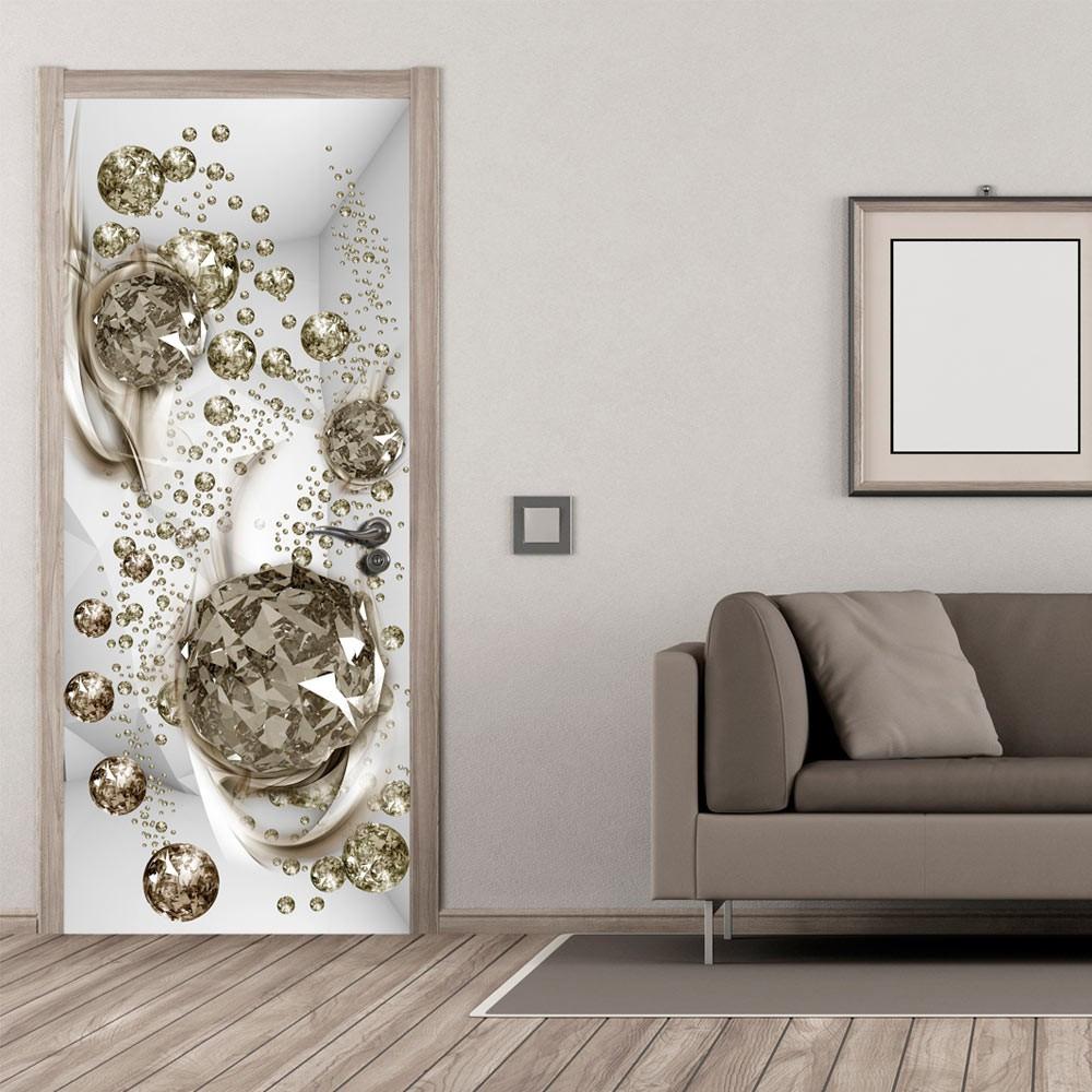 Fototapeta na drzwi - Bąbelkowa abstrakcja