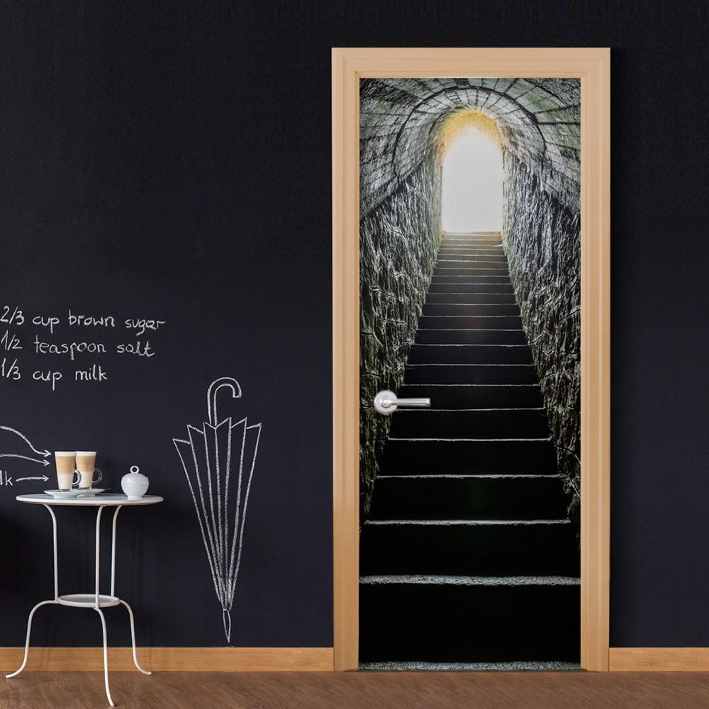Fototapeta na drzwi - Sekretne przejście