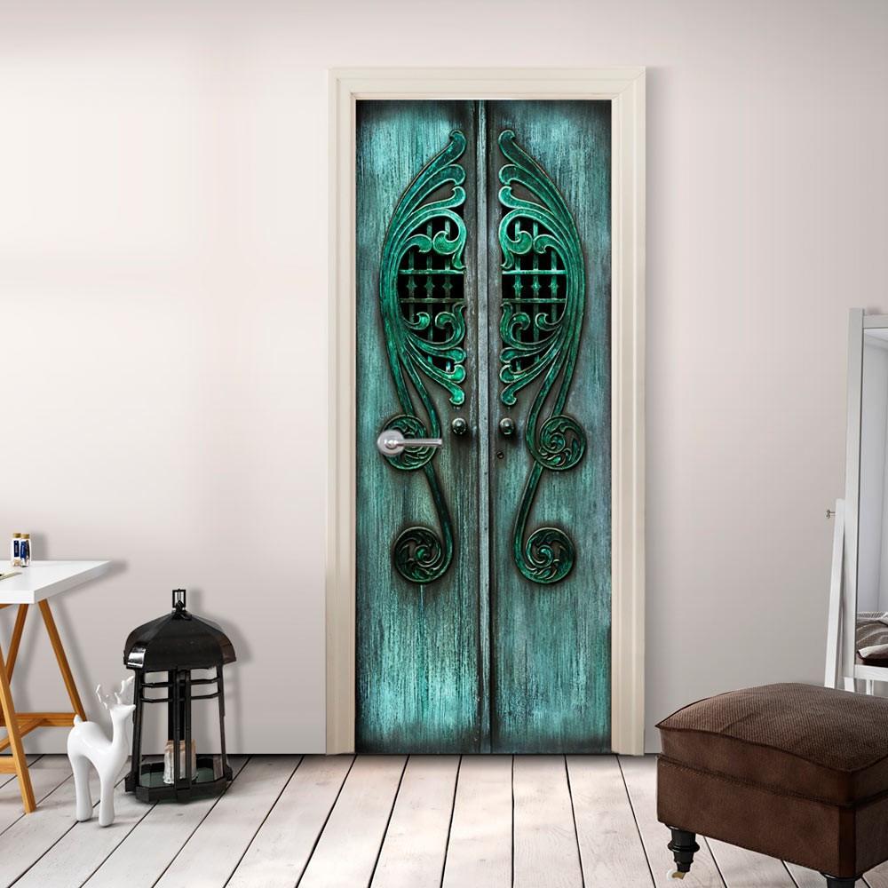 Fototapeta na drzwi - Szmaragdowe wrota