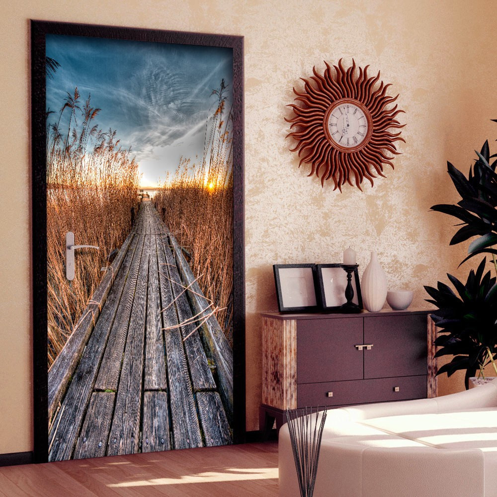 Fototapeta na drzwi - Tapeta na drzwi - Molo na jeziorze