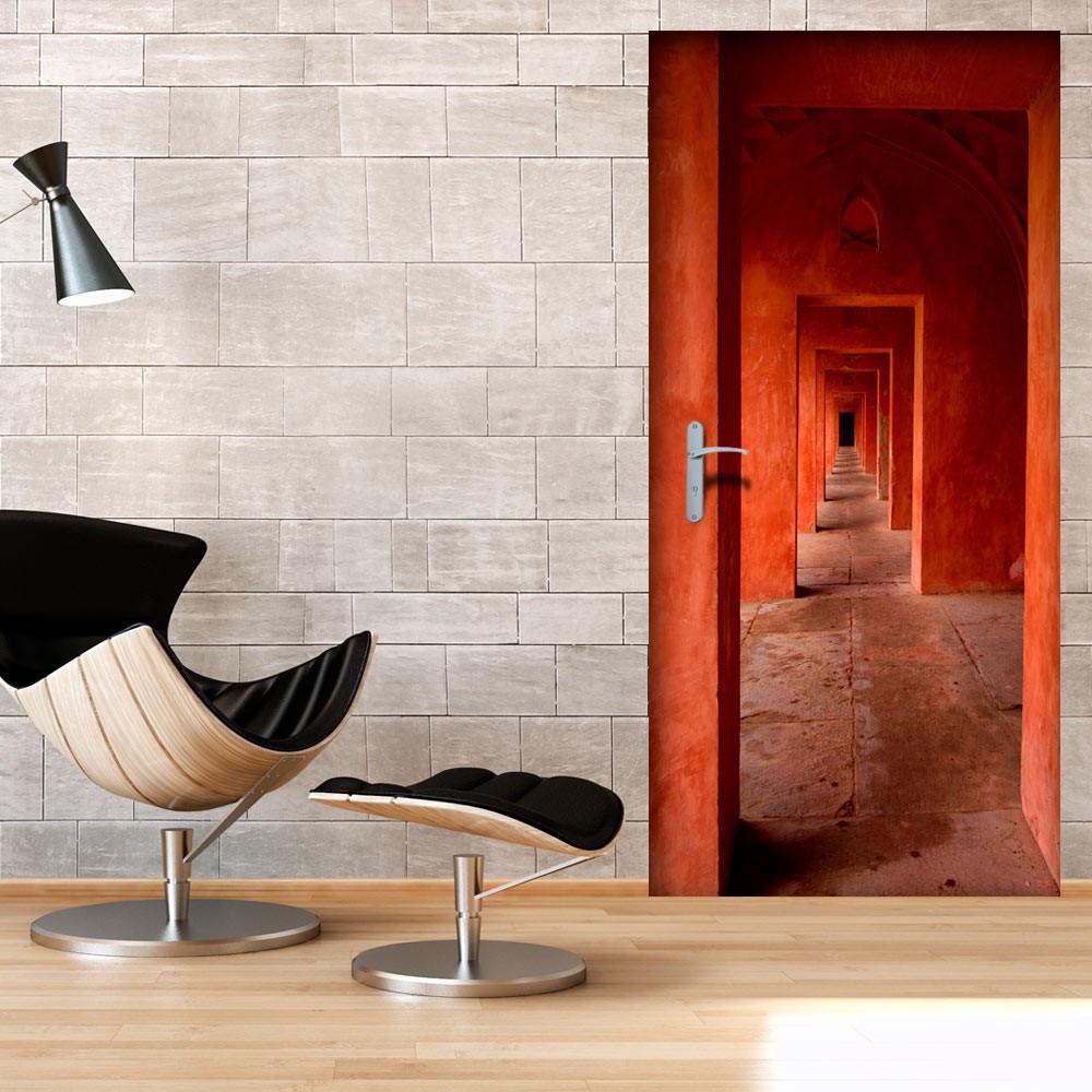 Fototapeta na drzwi - Tapeta na drzwi - Tunel drzwi