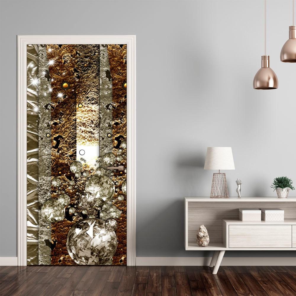 Fototapeta na drzwi - Tapeta na drzwi - Złote tło