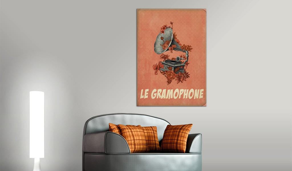 Obraz - Le gramophone