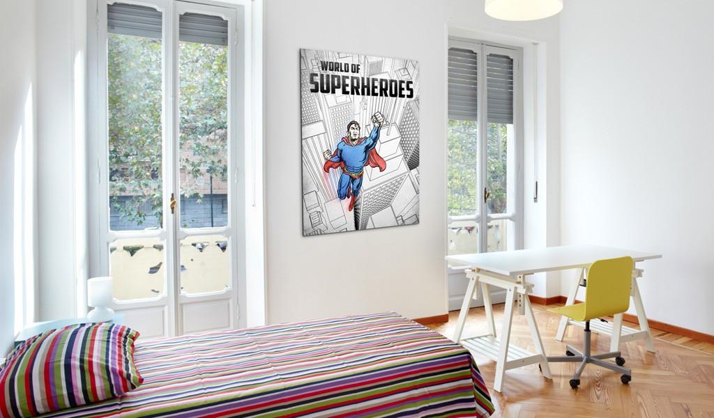 Obraz - World of superheroes