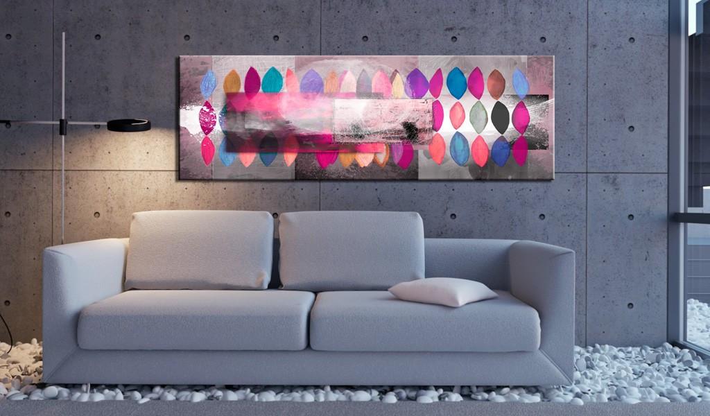 Obraz malowany - Paleta barw