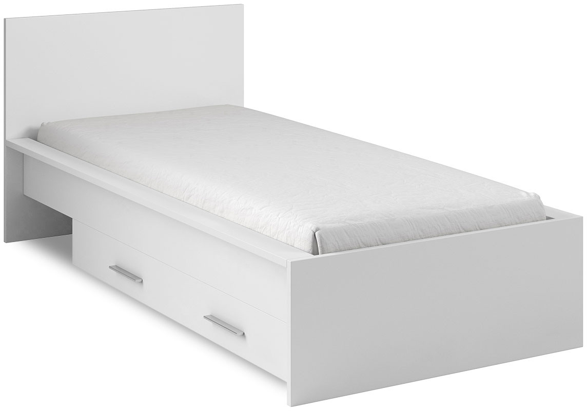 Łóżko One 90 z szufladą