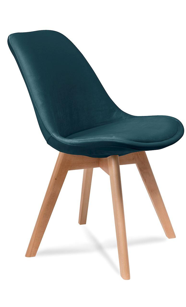 Krzesło Adam A (zieleń butelkowa)