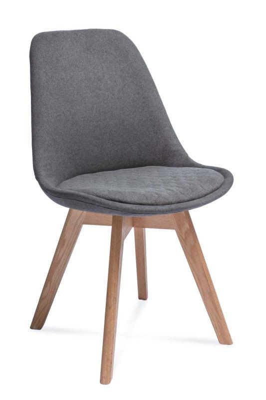 Krzesło Adam 2 Hex (ciemny szary)