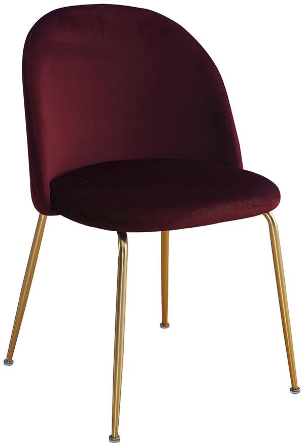 Krzesło Adele (burgundowy)