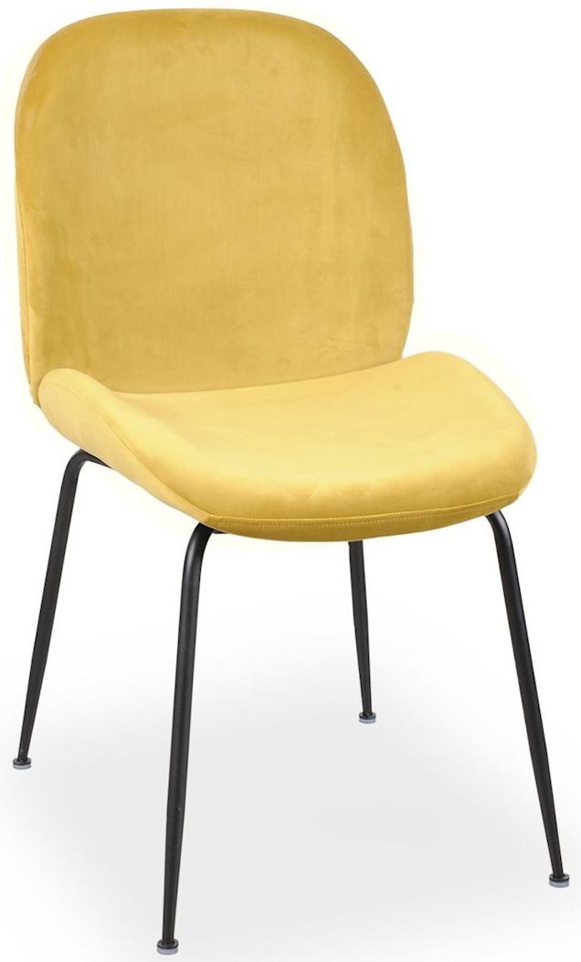 Krzesło Alex (miodowy/czarny)