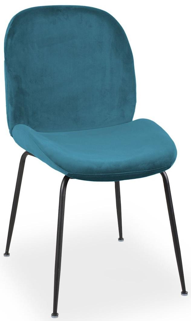 Krzesło Alex (morski/czarny)