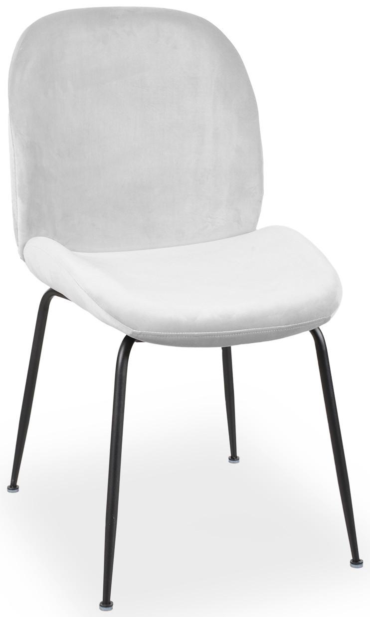 Krzesło Alex (srebrny/czarny)