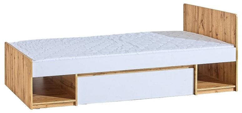 Łóżko Arca AR9 biały/dąb