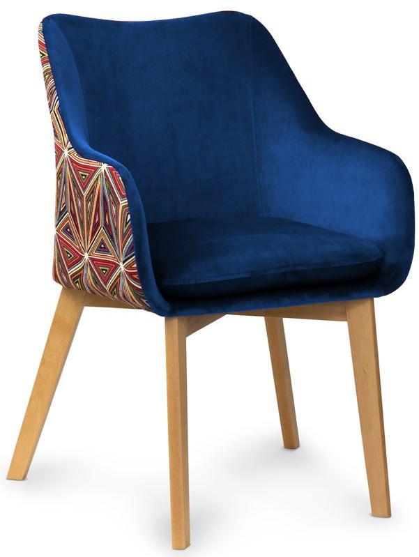 Krzesło Becca (granatowy)