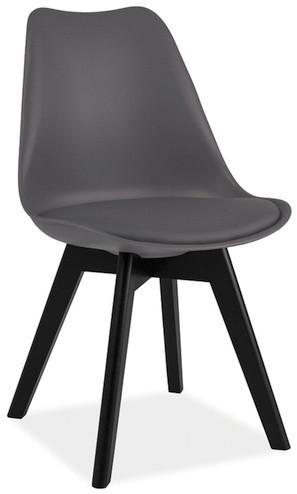 Krzesło Bergen C (ciemny szary)