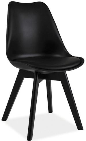 Krzesło Bergen C (czarny)