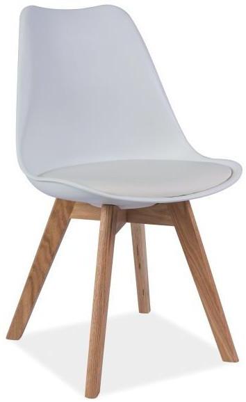 Krzesło Bergen D (biały)