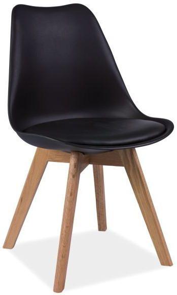 Krzesło Bergen D (czarny)