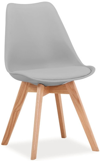 Krzesło Bergen D (jasny szary)