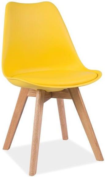 Krzesło Bergen D (żółty)