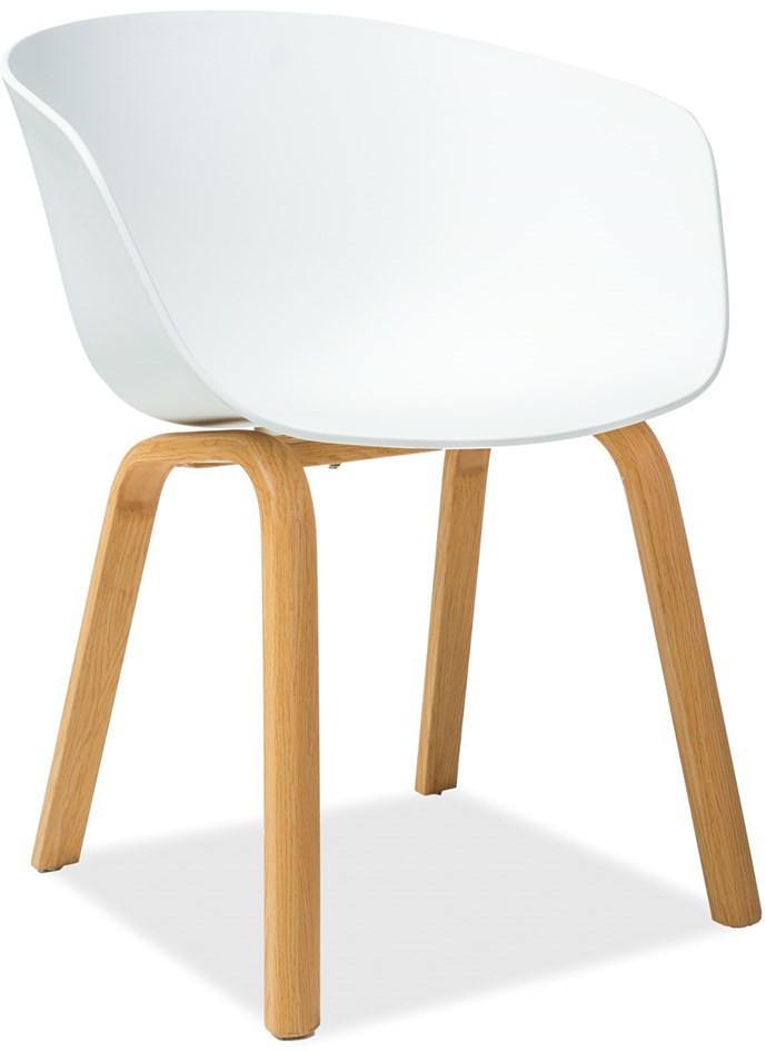 Krzesło Bulek (biały)
