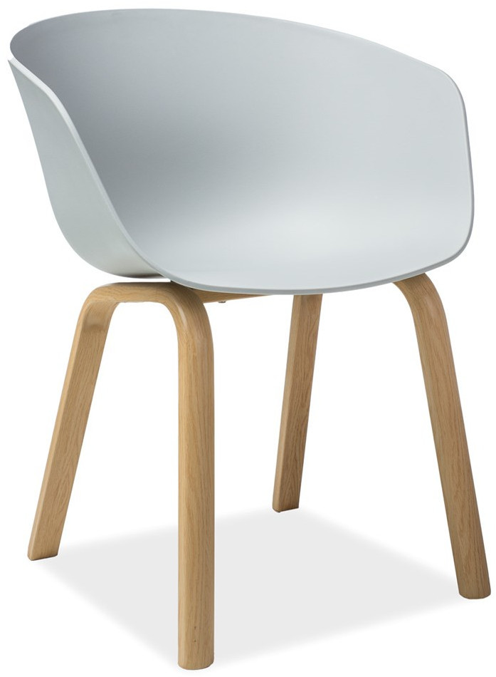 Krzesło Bulek (jasno szary)