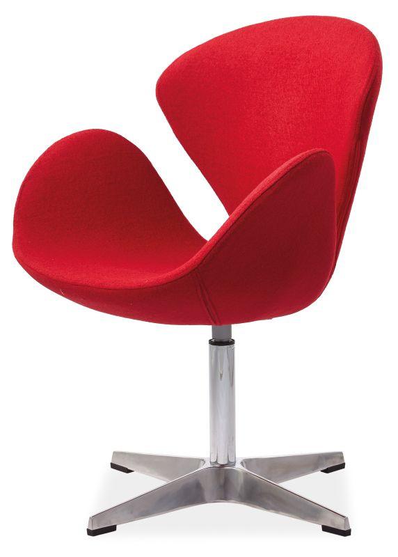 Fotel Dalia (czerwony)
