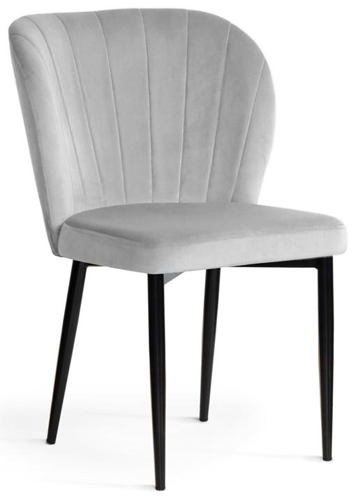 Krzesło Daria (srebrny/czarny)