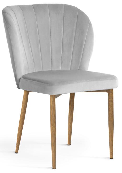 Krzesło Daria (srebrny/dąb)