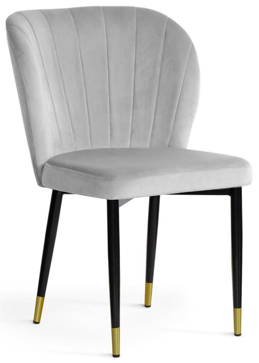 Krzesło Daria (srebrny/złoty)
