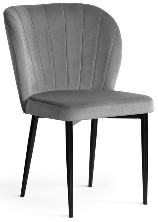 Krzesło Daria (szary/czarny)