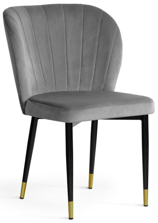 Krzesło Daria (szary/złoty)