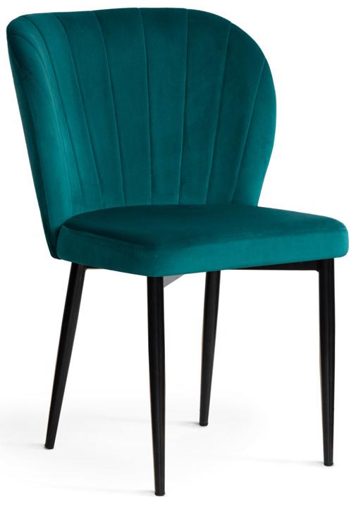 Krzesło Daria (turkusowy/czarny)