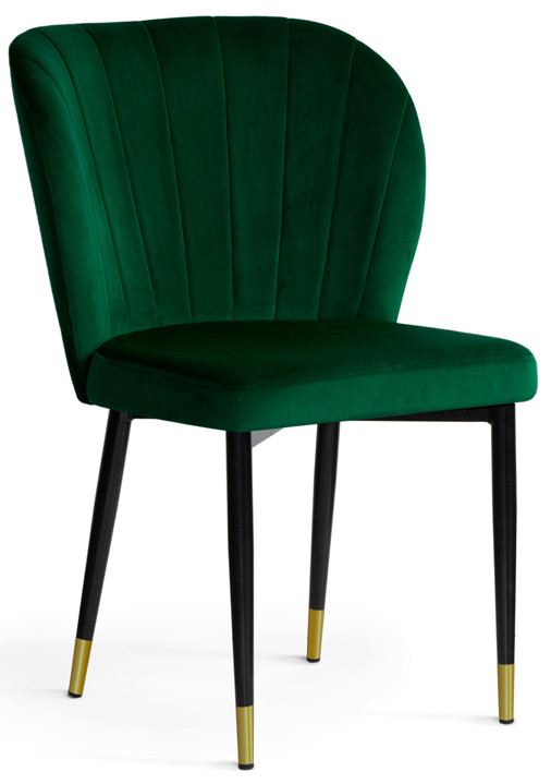 Krzesło Daria (zielony/złoty)