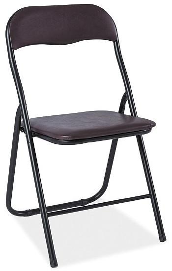 Krzesło Dezo (brązowy)