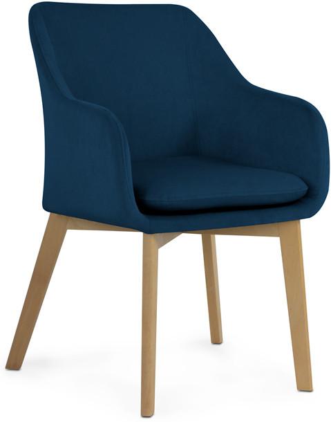 Krzesło Diego (granatowy)