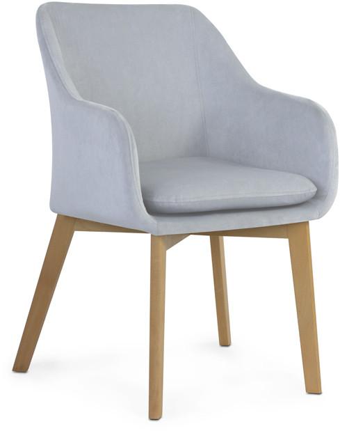 Krzesło Diego (srebrny)