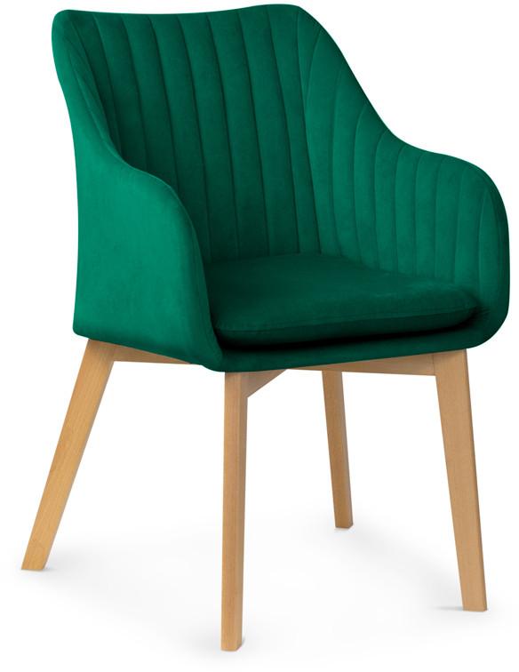 Krzesło Diego 2 (zieleń butelkowa)