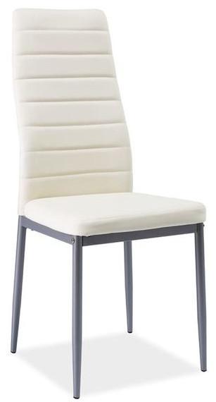 Krzesło Dora 2 (kremowy/szary)