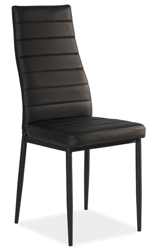 Krzesło Dora 4 (czarny/czarny)