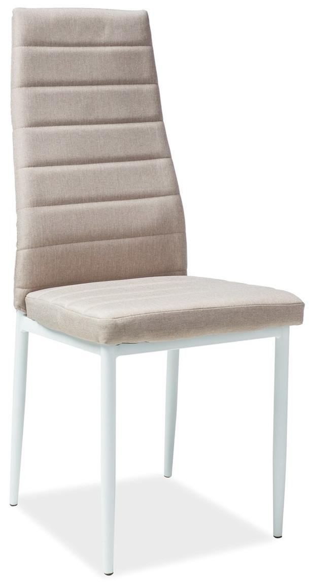 Krzesło Dora 5 (beżowy/biały)