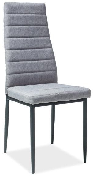 Krzesło Dora 5 (szary/czarny)